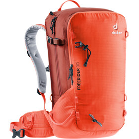 Deuter Freerider 30 Mochila, papaya/lava